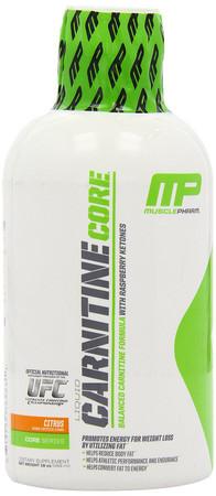MusclePharm Carnitine Core Liquid Bottle
