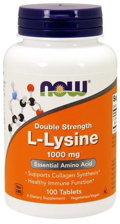 Now Double Strength L-Lysine 1000 MG
