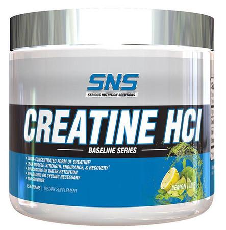 SNS Creatine HCI Bottle
