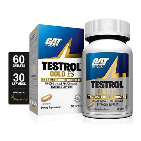 Gat Sport Testrol Gold ES Bottle and box