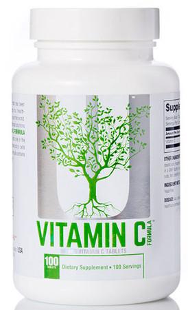 Universal Nutrition Vitamin C 500mg Bottle