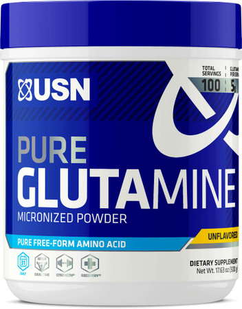 USN Pure Glutamine Bottle