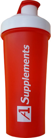 A1Supplements Fit Rider Shaker Cup Red