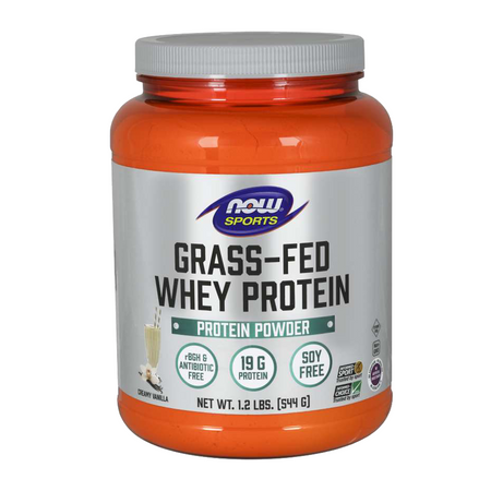 Now Sports Grass-Fed Whey Protein Bottle