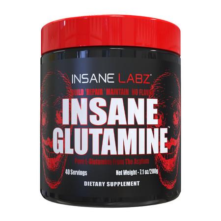 Insane Labz Insane Glutamine Bottle