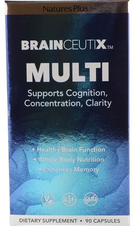 Nature's Plus Brainceutix Multi Bottle
