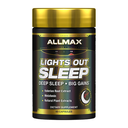 ALLMAX Nutrition Lights Out Sleep Bottle