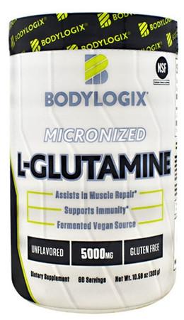 Bodylogix Micronized L-Glutamine Bottle