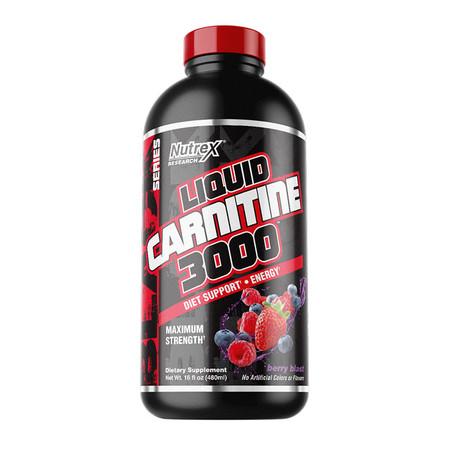 Nutrex Research Liquid Carnitine 3000 Black Bottle