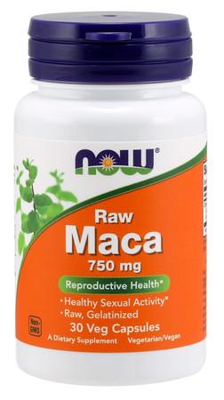 Now Raw Maca 750 mg