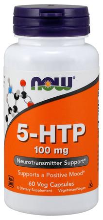 Now 5-HTP 100mg Bottle