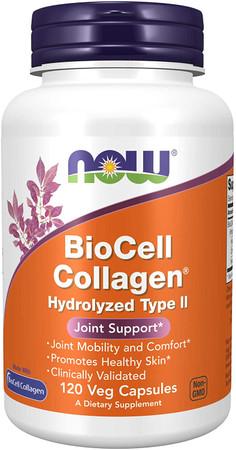 Now BioCell Collagen Hydrolyzed Type II bottle