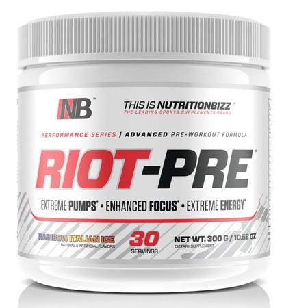 NutritionBizz Riot-Pre Bottle