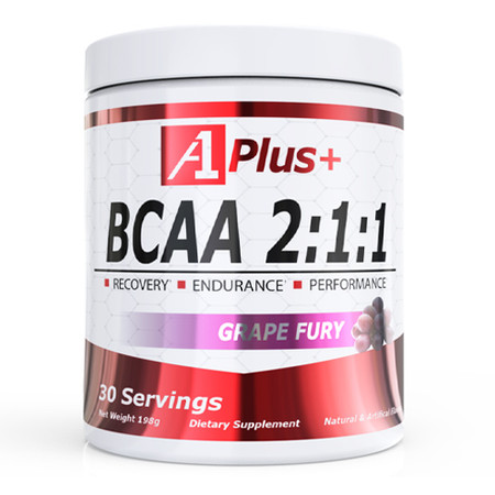 A1 Plus+ BCAA 2:1:1 Grape Fury Bottle