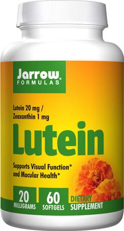 Jarrow Formulas Lutein 20mg Bottle