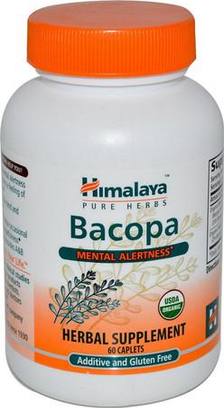 Himalaya Bacopa bottle