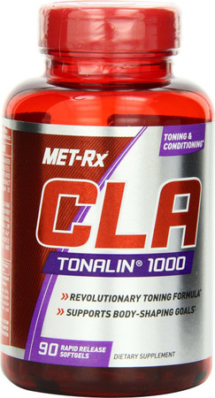 MET-RX CLA Tonalin Bottle
