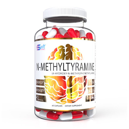 SWFT Stims N-Methyltyramine Bottle