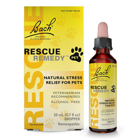 Bach Flower Remedies Rescue Remedy Pets