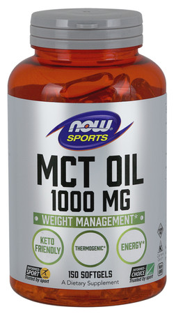 Now MCT Oil Softgels 1000mg