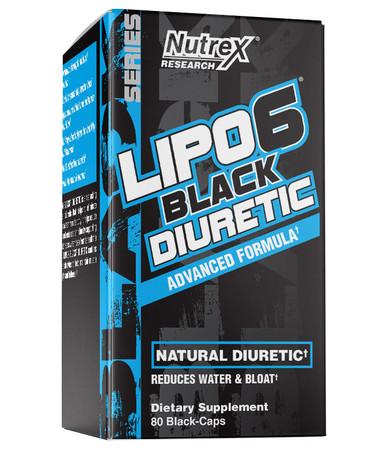 Nutrex Research Lipo-6 Black Diuretic Bottle