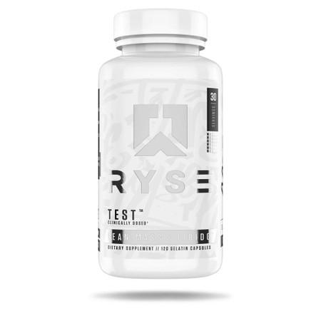 Ryse Supplements Test Bottle