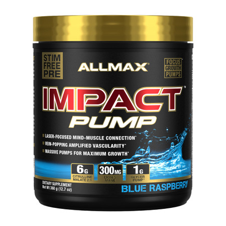 Allmax Nutrition Impact PUMP Bottle