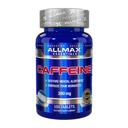 ALLMAX Nutrition Caffeine Pills Bottle