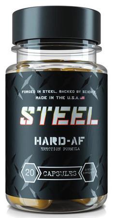Steel Supplements Hard-AF Bottle