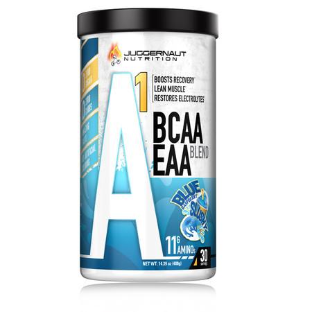 Juggernaut Nutrition A1 Amino BCAA EAA Blend Bottle
