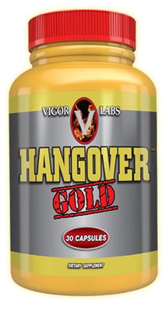 Vigor Labs Hangover Gold Bottle