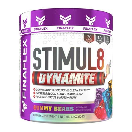 FINAFLEX Stimul8 Dynamite Bottle