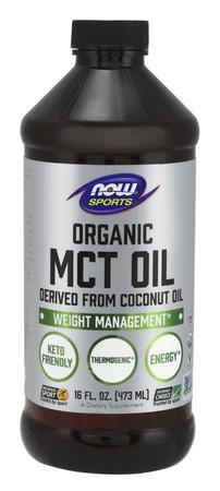Now Organic MCT Oil Bottle