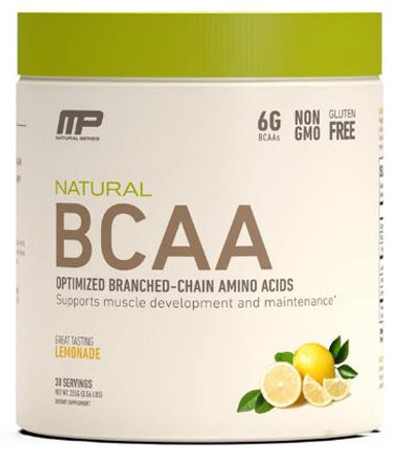 MusclePharm Natural BCAA Bottle