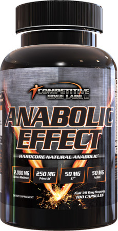 Competitive Edge Labs Anabolic Effect Bottle