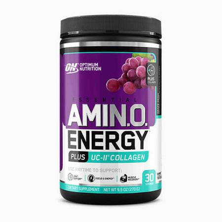 Optimum Nutrition Essential AmiN.O Energy Plus Collagen Bottle
