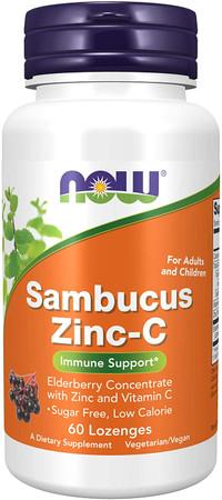 Now Sambucus Zinc - C bottle