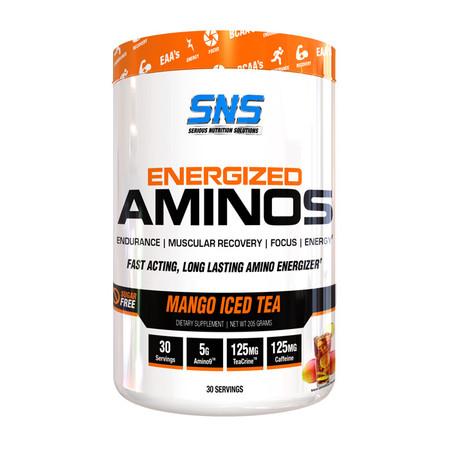 SNS Energized Aminos Bottle