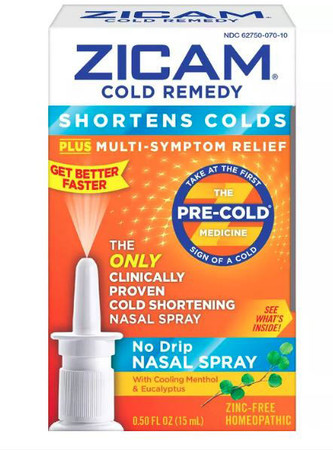 Zicam Cold Remedy Nasal Spray