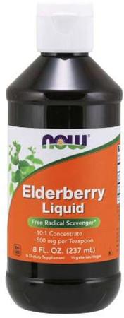 Now Elderberry Liquid Bottle