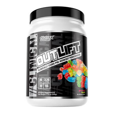 Nutrex Research Outlift Natural Bottle