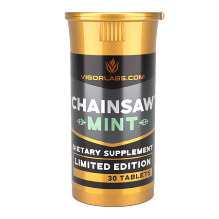 Vigor Labs Chainsaw Mint Bottle