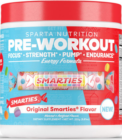 Sparta Nutrition Pre-Workout Bottle