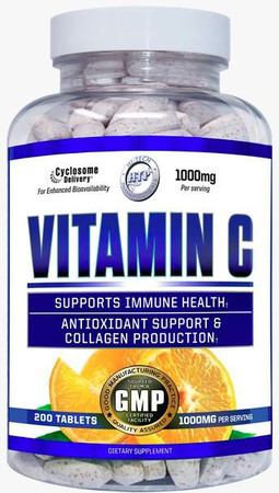 Hi-Tech Vitamin C Bottle