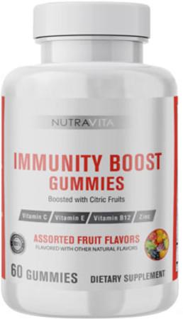 NutraVita Immunity Boost Gummies Bottle