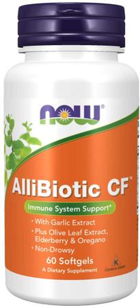 Now AlliBiotic CF bottle