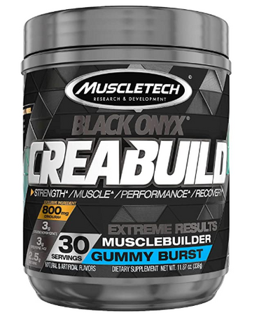 Muscletech Black Onyx Creabuild Bottle
