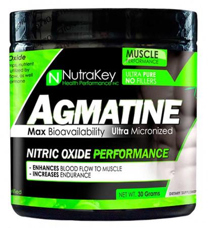 NutraKey Agmatine Powder Bottle