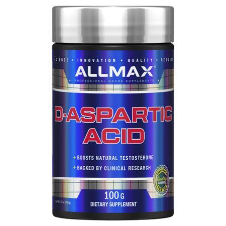 ALLMAX Nutrition D-Aspartic Acid Bottle