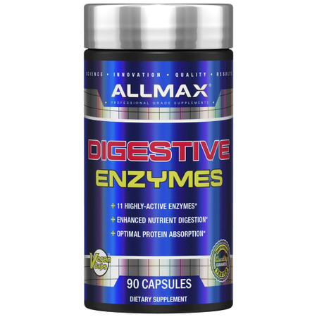ALLMAX Nutrition Digestive Enzymes Bottle
